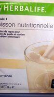 Herbalife boisson vanille creme - Product - fr