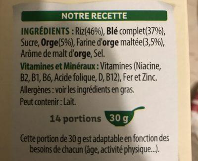 Special K nature - Ingrediënten