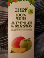 Tesco Apple And Mango Juice Not From Concentrate 1 Litre - Product