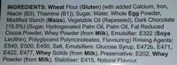 Dark Chocolate Iced Muffins - Ingredients - en
