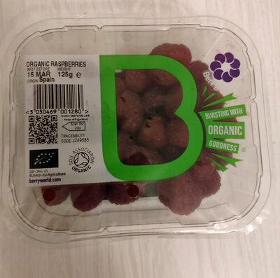 Organic raspberries - Product - en