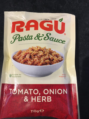 Tomato Onion and Herb Pasta & Sauce - Product - en