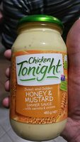 Honey & Mustard Simmer Sauce - Product - en