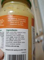 Honey & Mustard Simmer Sauce - Ingredients - en