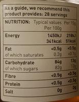 Clear Honey - Informations nutritionnelles - en