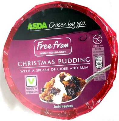 Wheat free, Gluten free, Dairy free Christmas Pudding - Product - en