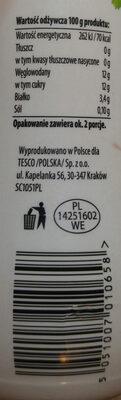 Kefir truskawkowy 0% - Wartości odżywcze - pl