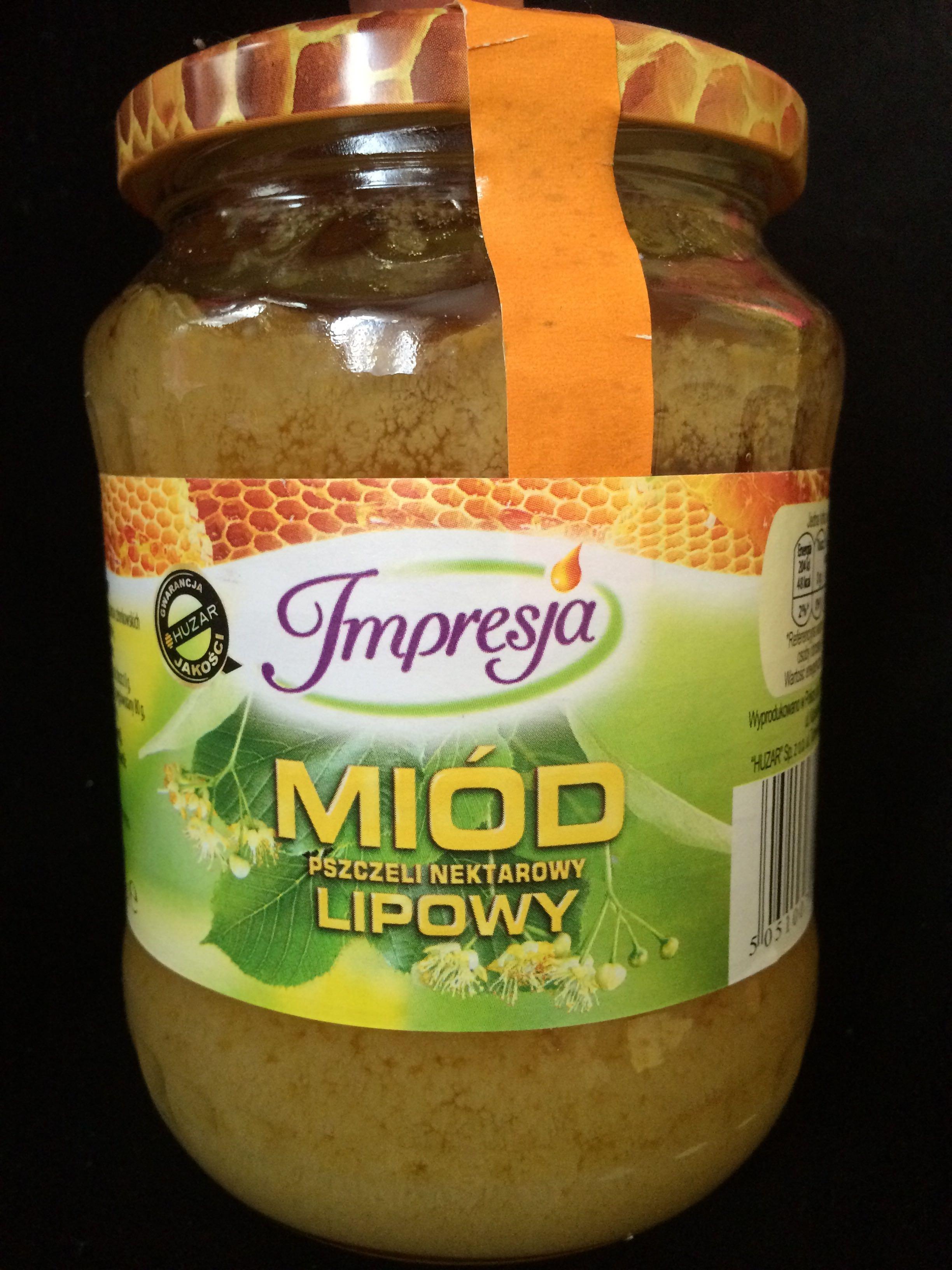 Miód Pszczeli Nektarowy Lipowy - Produkt