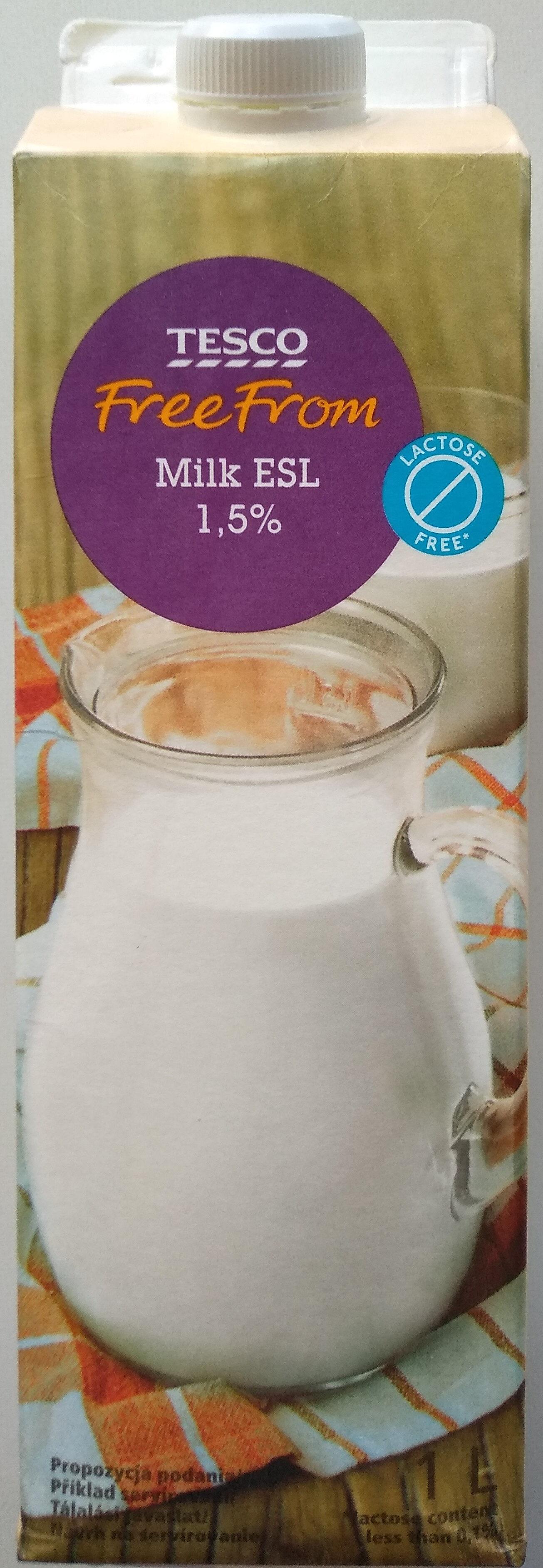 Laktózmentes ESL tej 1,5% - Product - hu