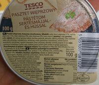 Pasztet wieprzowy - Produkt - pl