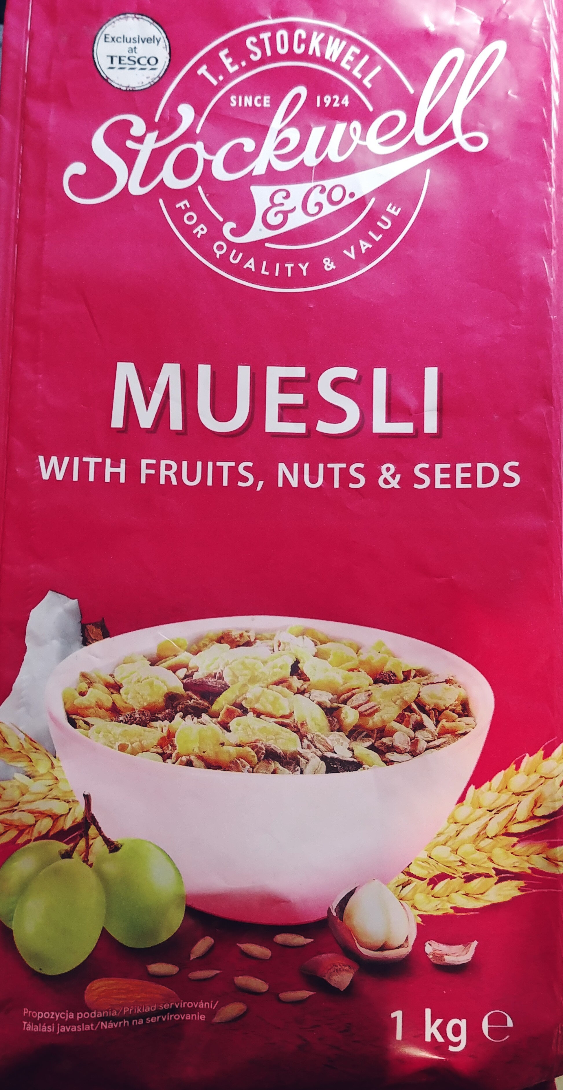 Muesli with fruits, nuts & seeds - Produit