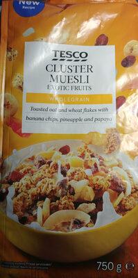 Musli prażone z kawałkami suszonych i kandyzowanych owoców. - Produkt - pl