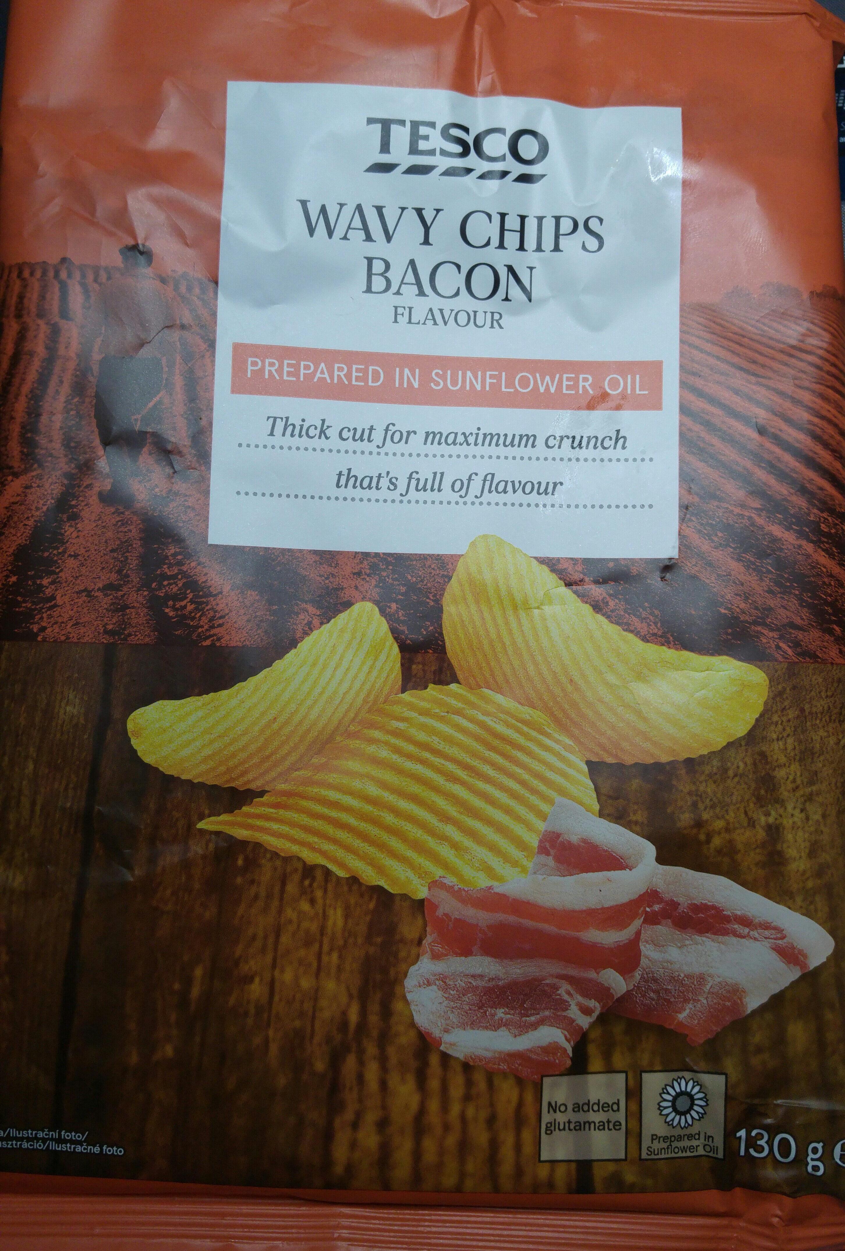 Chipsy ziemniaczane o smaku bekonowym. - Produkt