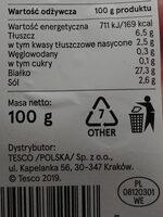 Krakowska sucha wieprzowe - Wartości odżywcze