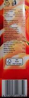 Sok pomidorowy z zagęszczonego soku pomidorowego - Wartości odżywcze