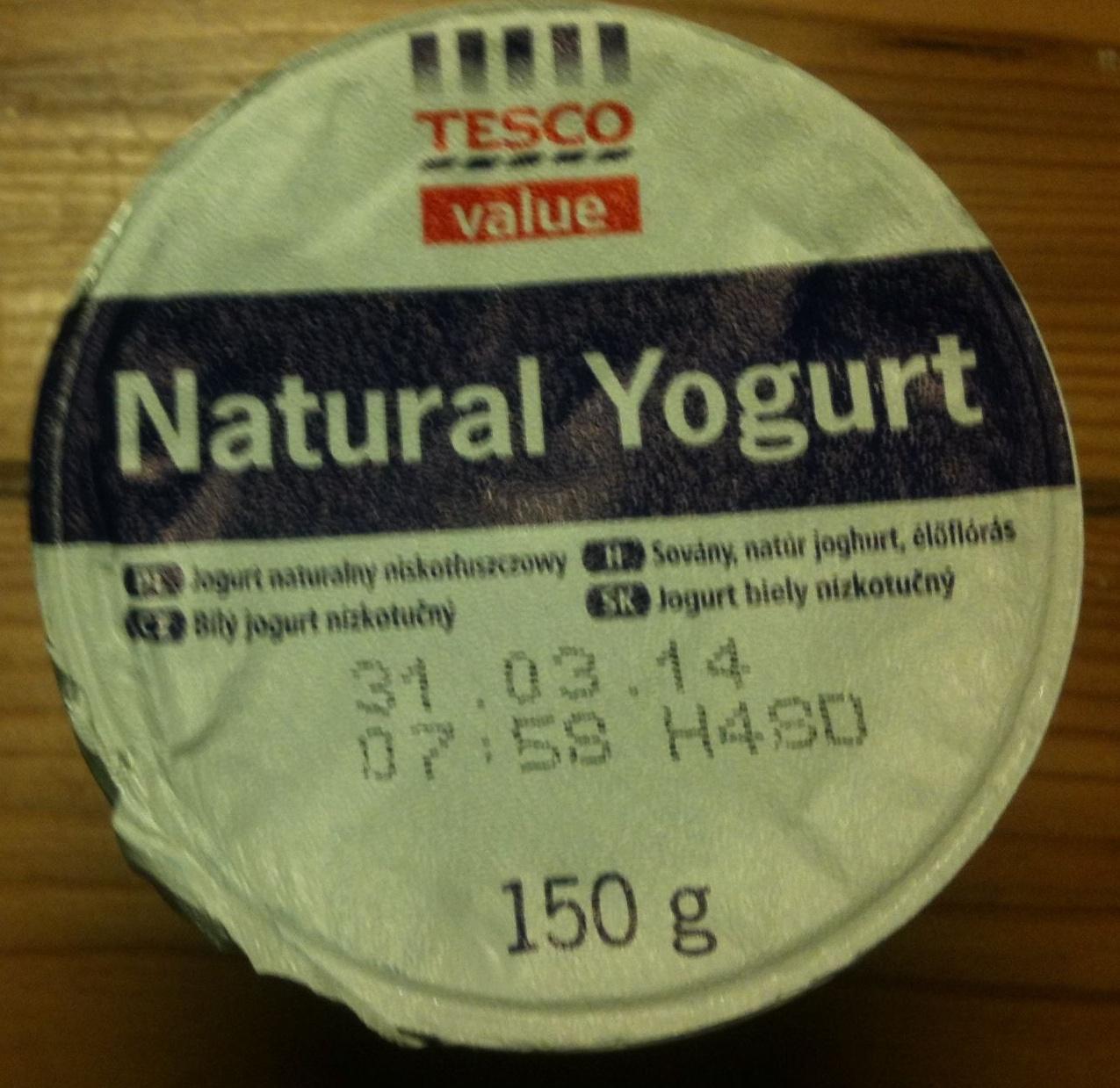 Natural yogurt - Produit - en