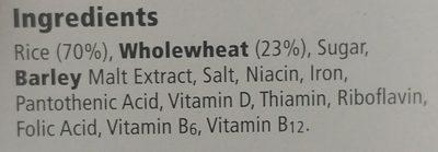 Special flakes - Ingredients