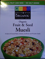 organic Fruit & Seed Muesli - Product