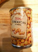 Tesco Chickpeas In Water - Product - en