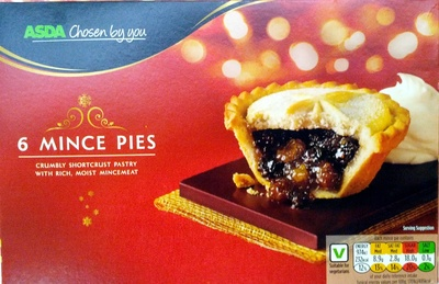 6 Mince Pies - Product - en