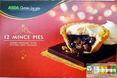 12 Mince Pies - Product