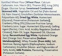 6 Cranberry and Orange Bakewells - Ingredients