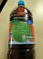 summer fruit double strength squash - Product