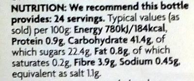 Sweetcorn Relish - Voedingswaarden - en
