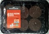 6 Black Pudding Slices - Product