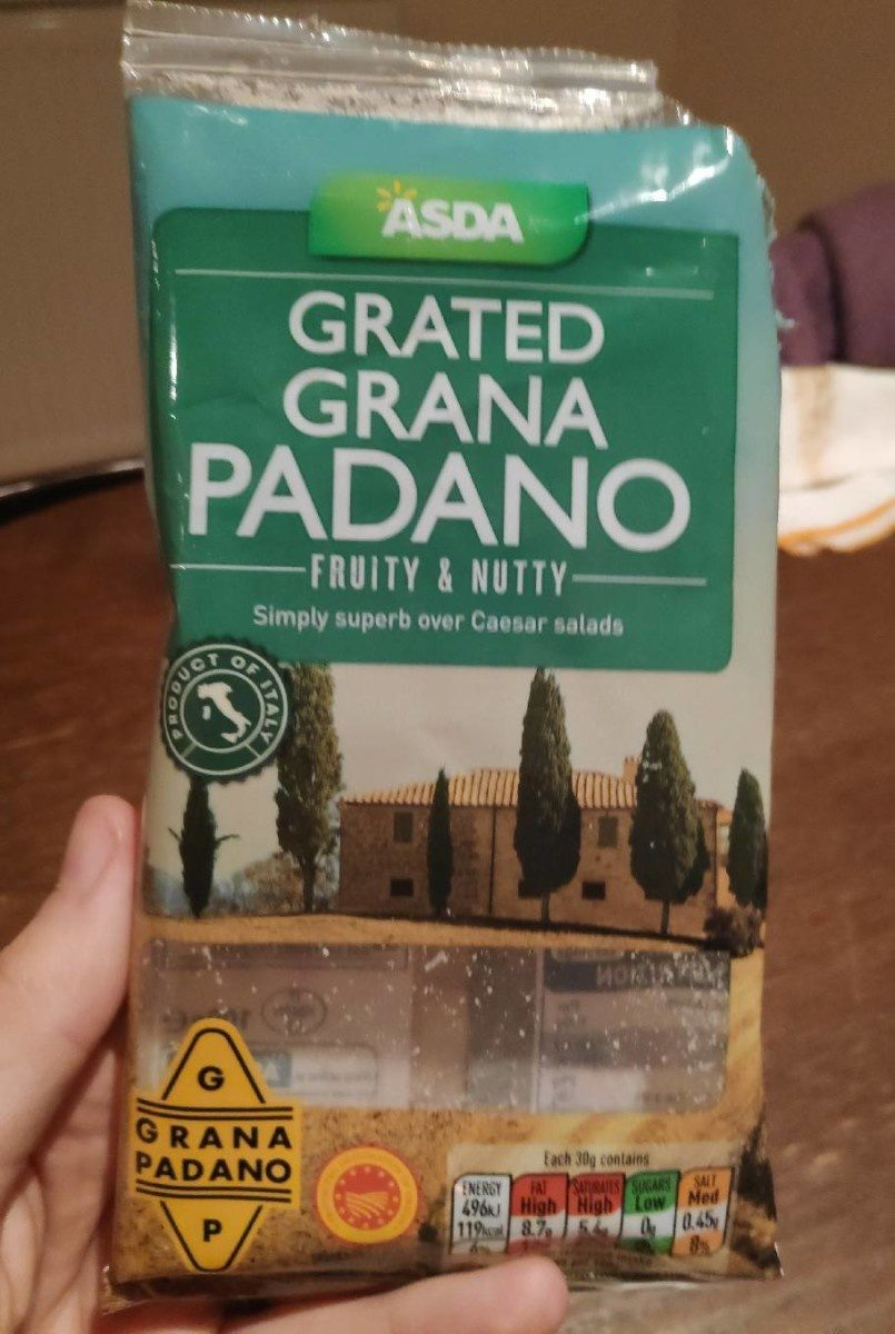 Grated grana padano - Product