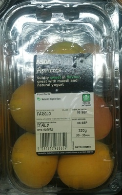 Apricots - Product