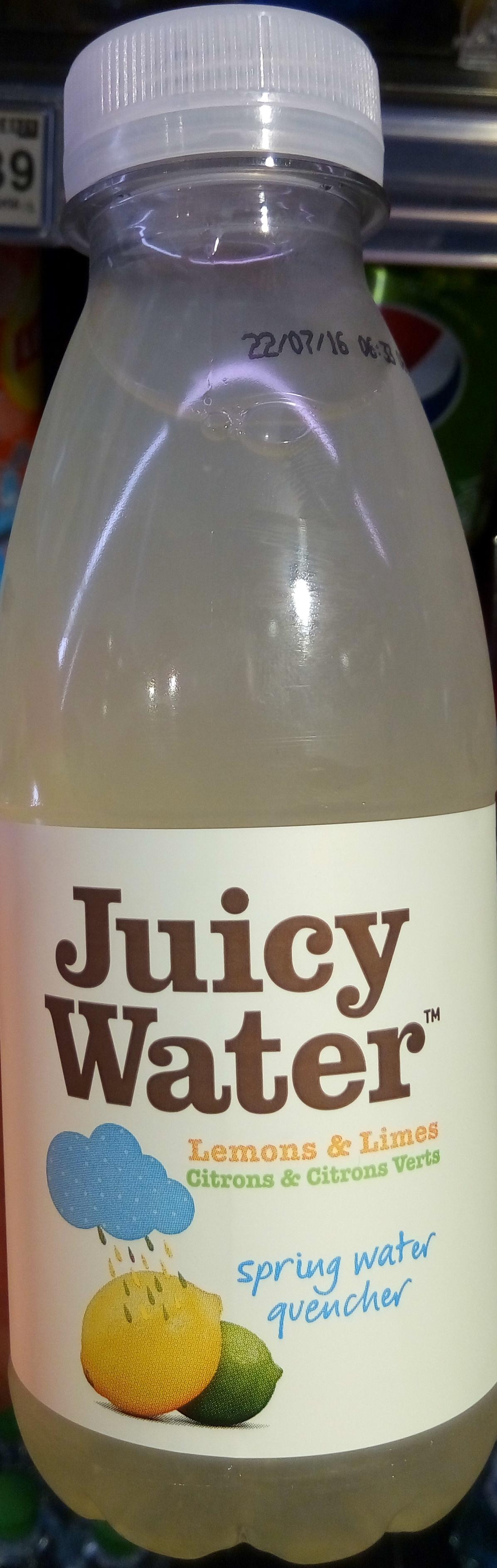 Juicy Water citrons et citrons verts - Product - fr