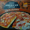 Deep Pan pizza base topped with tomato sauce, formed ham, mozzarella cheese, mushroom and red onion. - Product