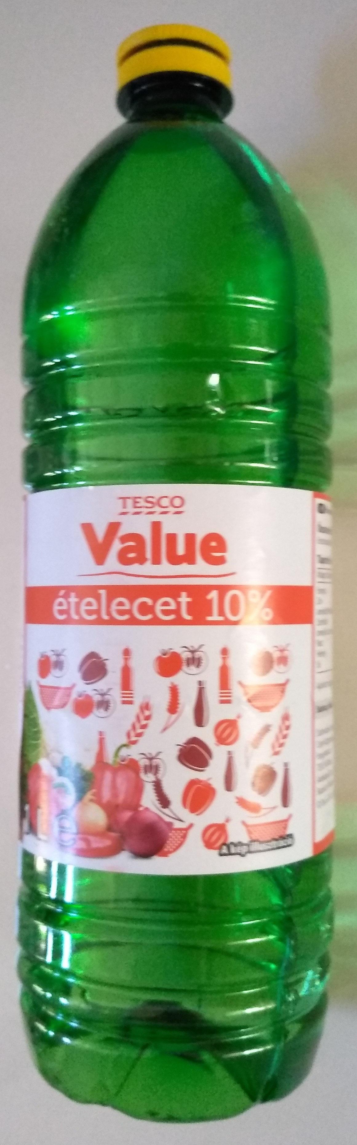 Value Ételecet 10% - Produit - hu