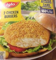 2 Chicken Burgers - Product - fr