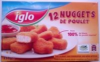 12 nuggets de poulet - Product - fr