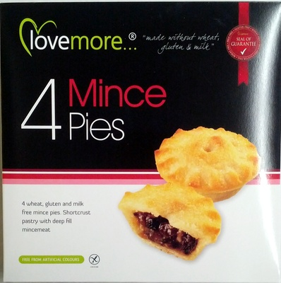 4 mince pies - Product