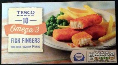 omega 3 fish fingers - Product