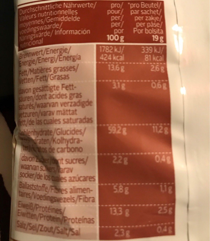 Snack It Peanut Curls - Informations nutritionnelles