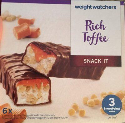 Weight Watchers Riegel Rich Toffee - Product - de