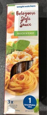 Bolognese style sauce - Product - fr