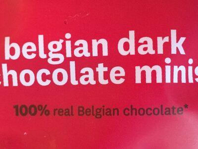 Belgian dark chocolate minis - Prodotto - fr