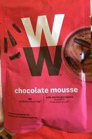 Chocolate mousse - Produit - fr