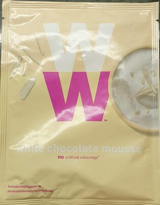 White chocolate mousse - Product - fr