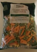 Classic mixed vegetables - Produit - en