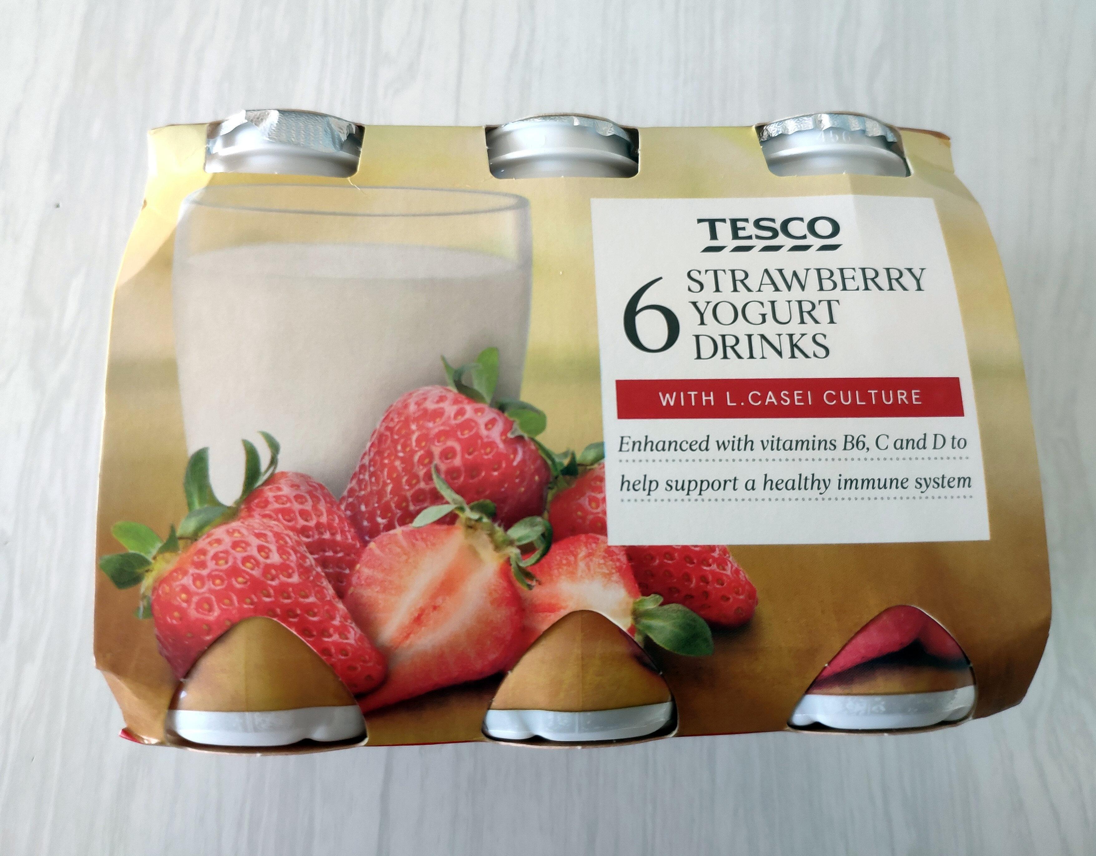 Strawberry Yogurt Drinks - Product - en