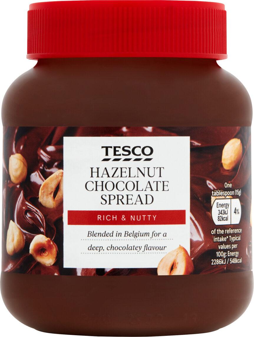 Tesco Hazelnut Chocolate Spread 400G - Produit - en