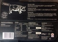 back bacon - Product