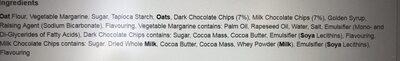 Tesco Free From Chocolate Chip Cookies 150G - Ingrédients - en