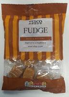 Tesco Fudge - Product - en